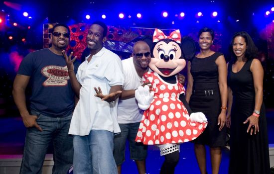 Boyz II Men with Minnie