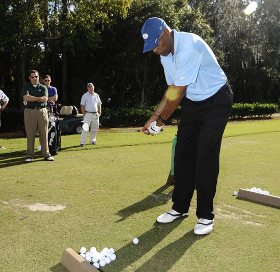 NBA Legend Julius 'Dr.J' Erving at Disney's PGA Tour Event