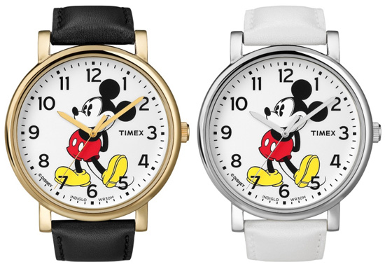 Modern Easy Reader Watches of the 'Timex for Disney' Collection