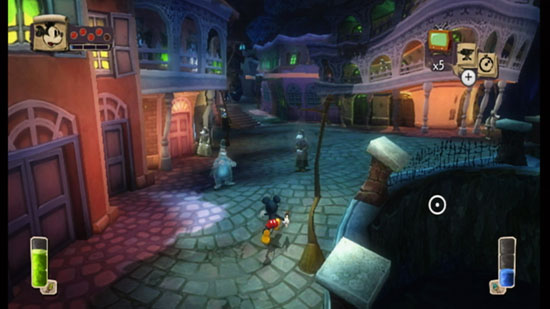 'Bog Easy' in Epic Mickey Game