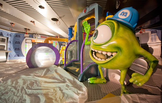"Mike Wazowski from the Disney∙Pixar film ""Monsters, Inc."""