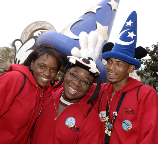 Members of the 2011 class of the Disney's Dreamers Academy