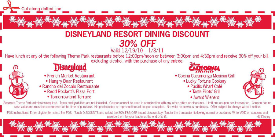 Offers & Discounts Special offers may be available for tickets, Resort stays, Featured hotels: Disneyland Hotel, Grand Californian Hotel, Paradise Pier Hotel.
