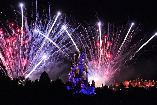 Happy New Year from Disneyland Paris