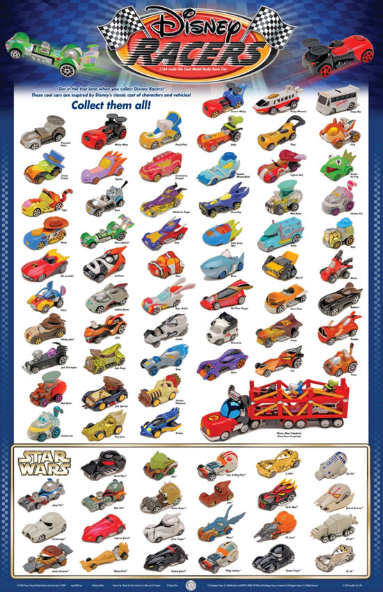 Disney Racers Poster