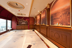 Construction on the Chef's Dining Table Dining Room at Remy Aboard the Disney Dream