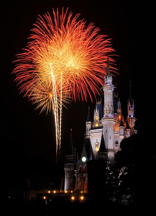 Happy New Year from Tokyo Disneyland