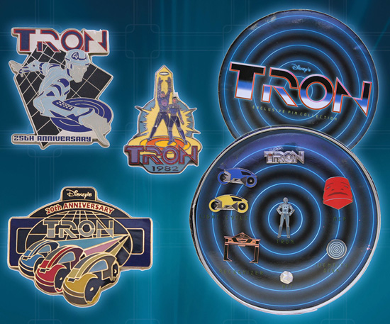 A Look Back at Tron-themed Pins