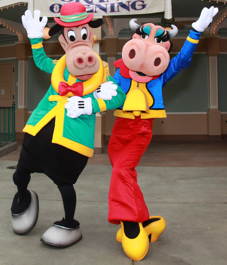 Limited Time Magic: Long Lost Friends - Clarabelle Cow and ...  Horace Horsecollar And Clarabelle Cow