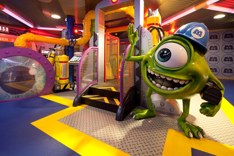 Monsters Academy Inside Disneys Oceaneer Club