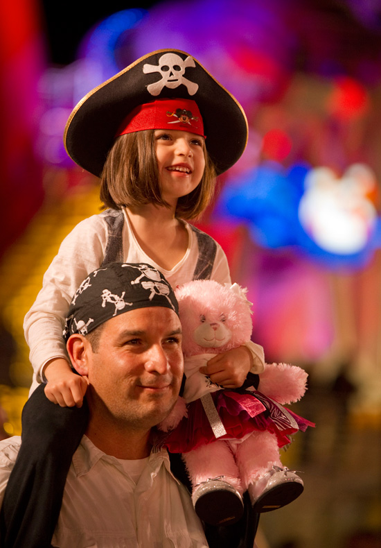 Guests enjoying Mickey's Pirates IN the Caribbean