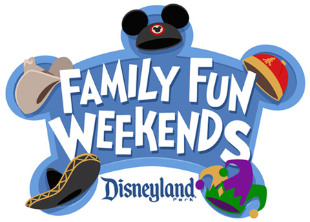 Family Fun Weekends at the Disneyland Resort