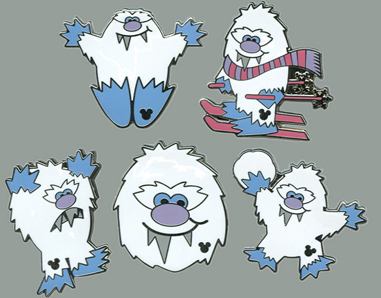 Yeti Hidden Mickey Pin Series Coming to Walt Disney World Resort