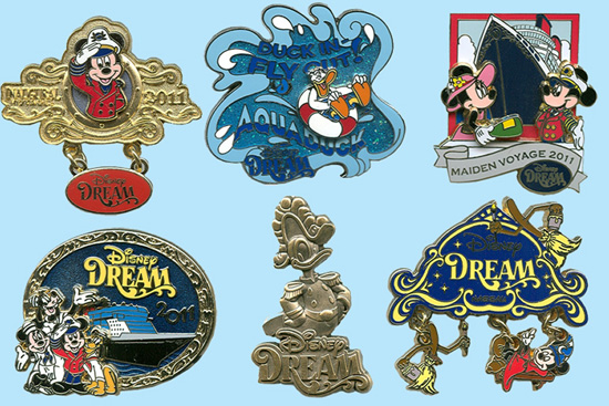 Limited Edition Disney Dream Pins