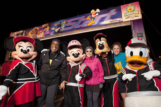 'Today Show' Hosts Al Roker, Meredith Vieira and Natalie Morales Before the Walt Disney World Half Marathon