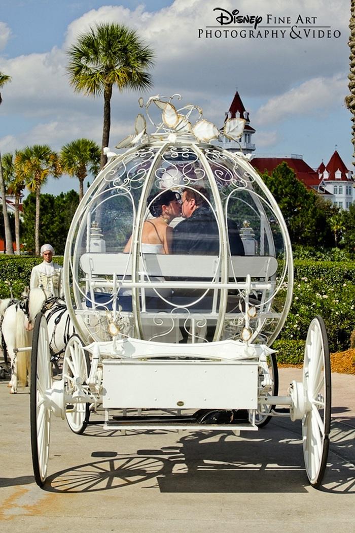Walt Disney World Bob And Maurita In Cinderella S Coach