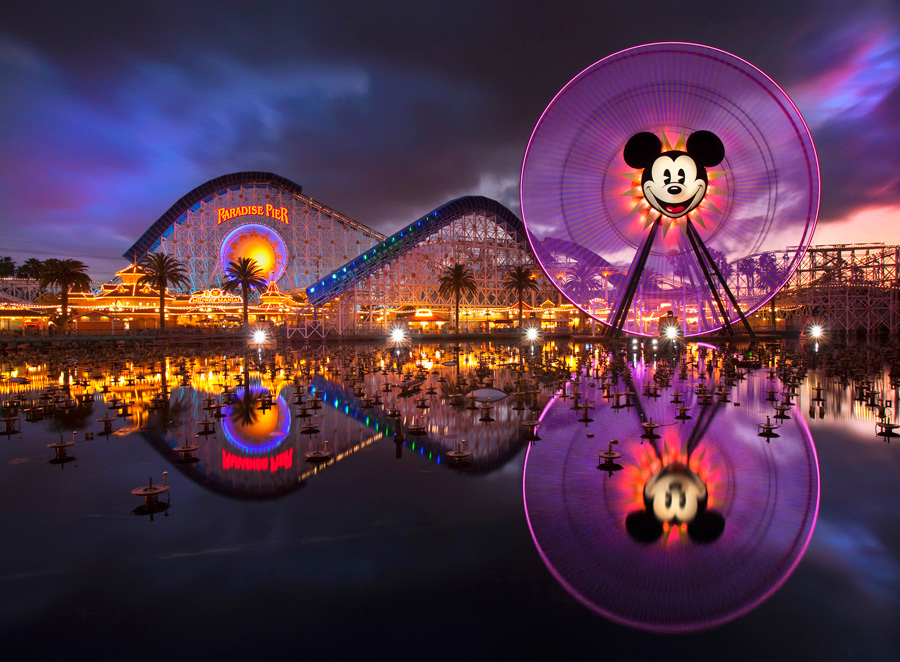 Fun With Mickeys Fun Wheel At Disney California Adventure Park - Disney adventure