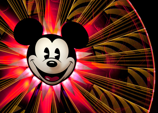 Fun with Mickey's Fun Wheel at Disney California Adventure Park