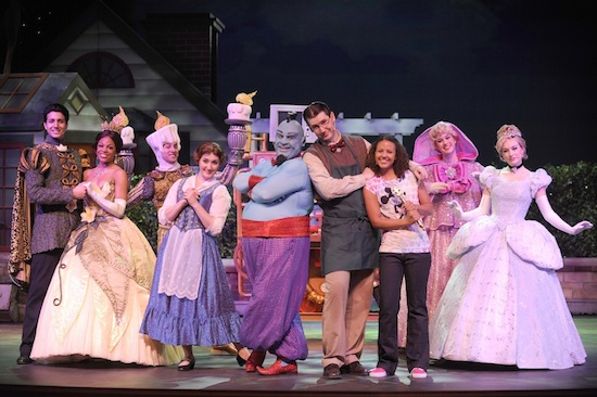 "More than 20 favorite Disney characters perform in ""Disney's Believe"" aboard the Disney Dream."