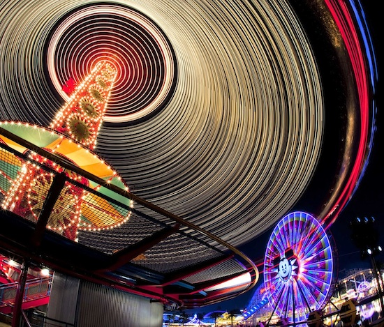 Things That Spin in the Night at Disney California Adventure Park By: Paul Hiffmeyer