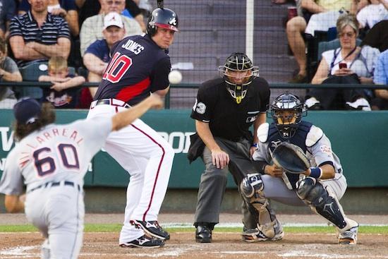 Chipper Jones at Bat