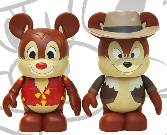Chip and Dale Vinylmation Figures