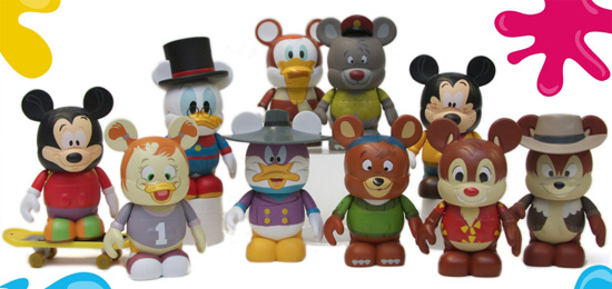 Disney Afternoon Vinylmation Figures