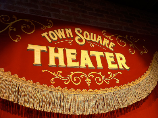 Town Square Theater, Mickey's New Home at Magic Kingdom Park