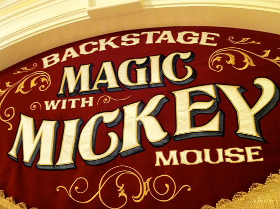 Go Backstage at Town Square Theater to Meet Magician Mickey Mouse