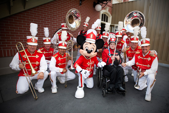 Playing in the Band with Mickey Mouse