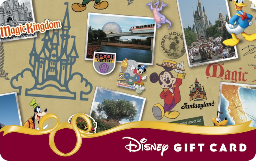 40th Anniversary Disney Gift Cards | Disney Parks Blog