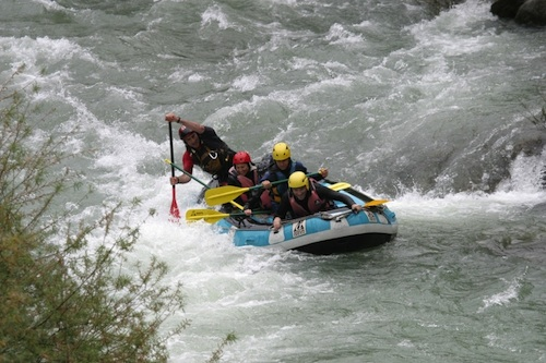 Outside of Villefranche, guests can embark on a thrilling white water rafting ride down the Var River