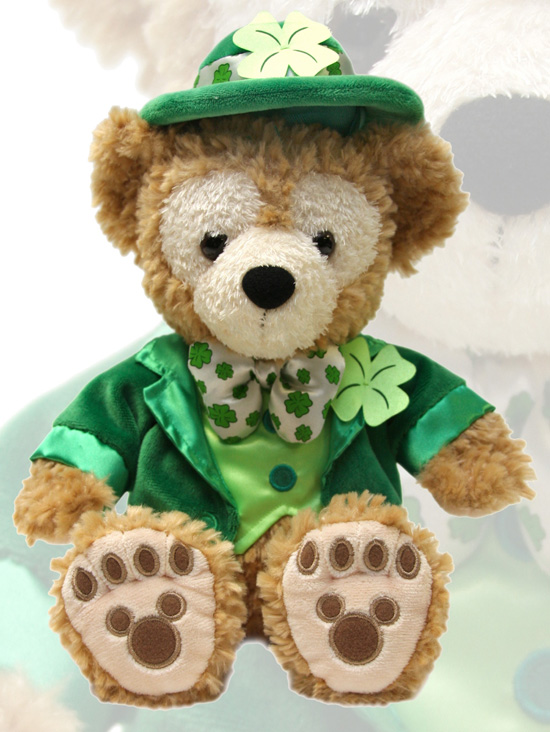 St. Patrick's Day-Themed Duffy the Disney Bear
