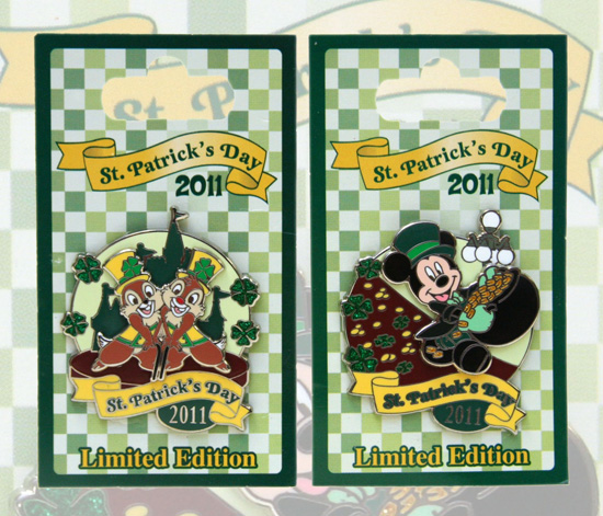 St. Patrick's Day Limited Edition Pins