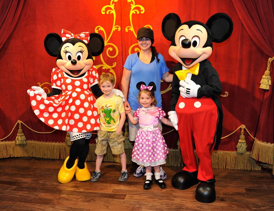 Mickeys magical meet and greet debuts april 1 at magic kingdom park town square theater at magic kingdom park m4hsunfo
