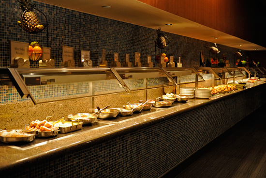 New Breakfast Buffet at The Wave...of American Flavors