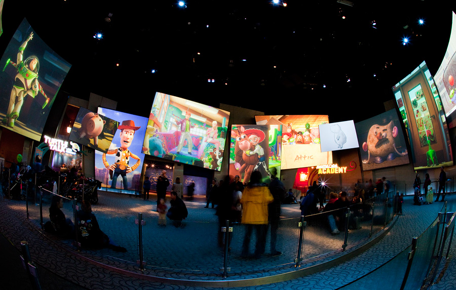 The Art Of Animation Show At Disney California Adventure Park