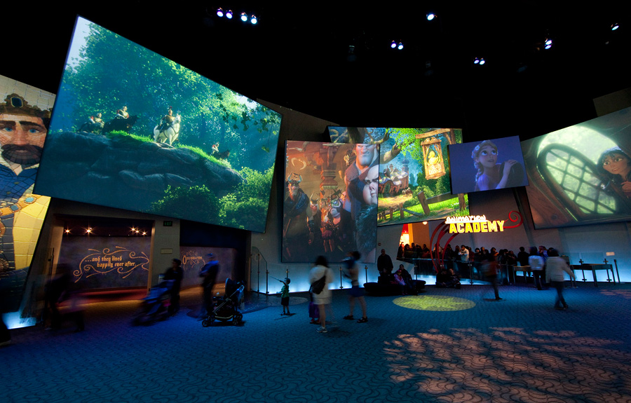 Look For New Film Images In The Art Of Animation Show At Disney