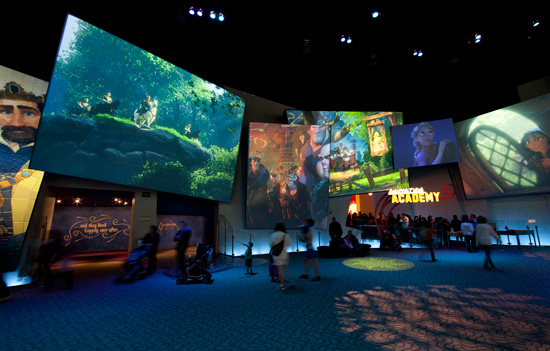'The Art of Animation Show' at Disney California Adventure Park