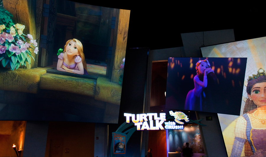 Tangled At The Art Of Animation Show Disney California Adventure Park