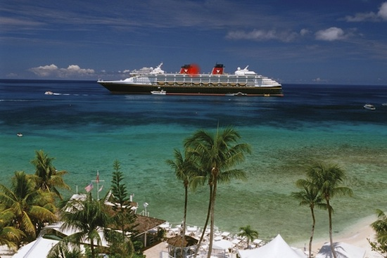 The Disney Magic Visits Grand Cayman, One of the Destinations the Disney Fantasy Will Call On In 2012.