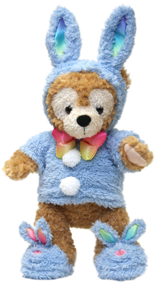 Duffy the Disney Bear Dressed for Easter