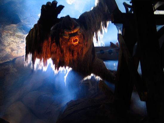 The Yeti in Expedition Everest at Disney's Animal Kingdom