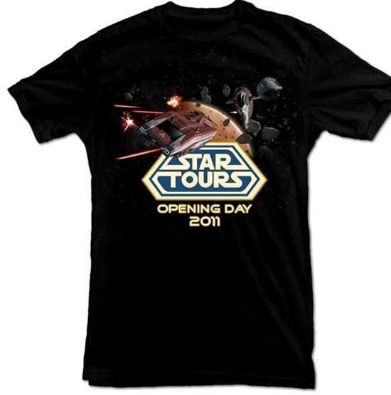 Star Tours Opening Day Shirt