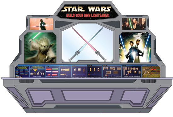 Star Wars - Build Your Own Lightsaber