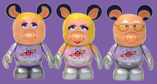 'Pigs in Space' Vinylmation Figures