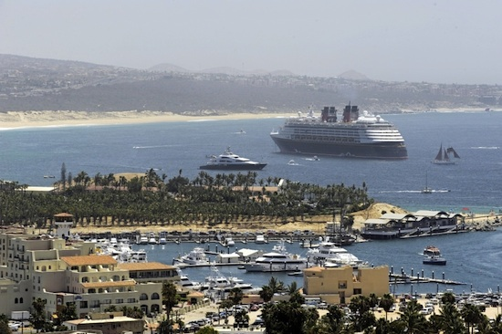The Disney Wonder Visits Charming Cabo San Lucas During a Mexican Riviera Cruise.