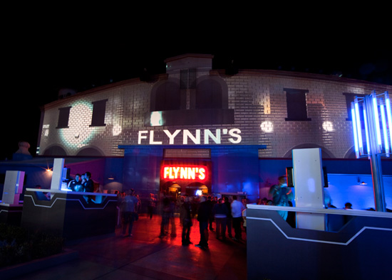 Flynn's Arcade at Disney California Adventure Park