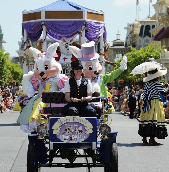 Easter Bunny Hops Into Town April 17 at Magic Kingdom