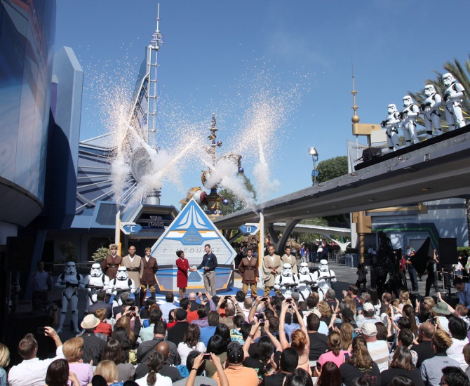 Star Tours Opening Ceremony